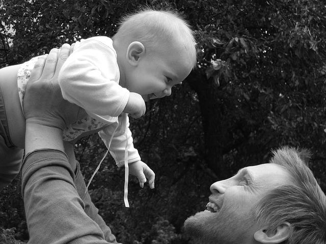 láska otce