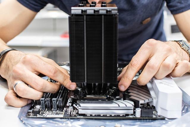 sestavení počítače