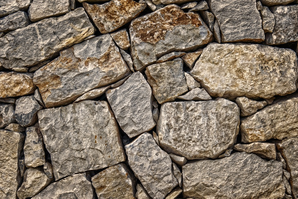 kamenná zídka