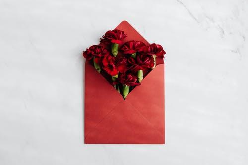 kytičky v obálc